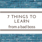 7 things to learn