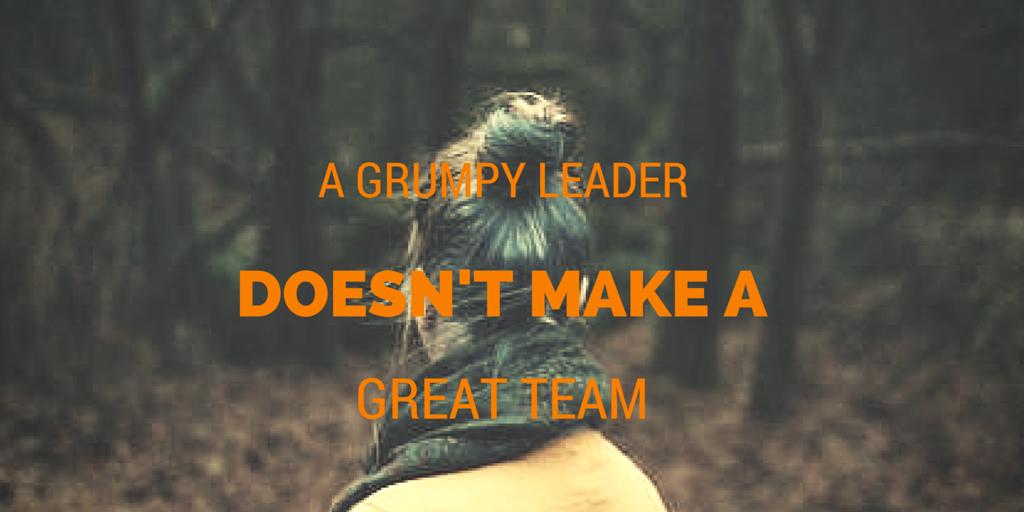 A Grumpy Leader